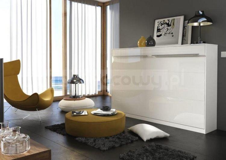 ko chowane w szafie bia y po ysk poziome i pionowe. Black Bedroom Furniture Sets. Home Design Ideas