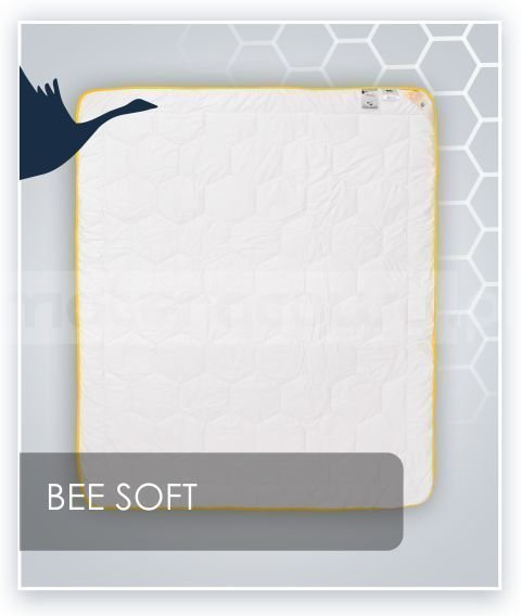 Kołdra Synthetic Exclusive Satyna Bawełniania Bee Soft AMZ